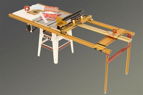 router and table combo set 52 quot range ts ls joinery system w 28x21 left side router