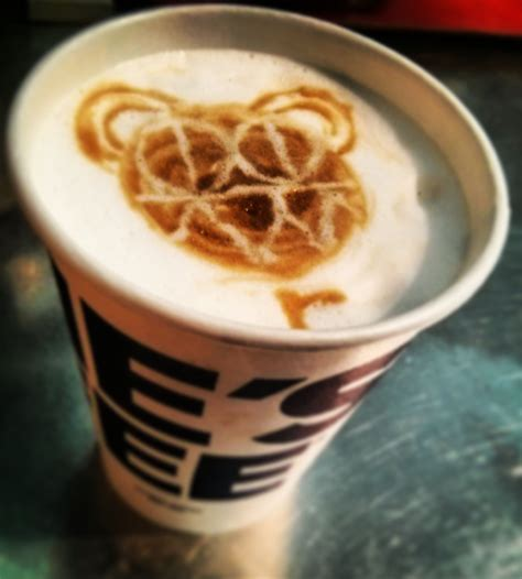Do you have to seal it a certain way ? bear latte art | Latte art, Coffee art