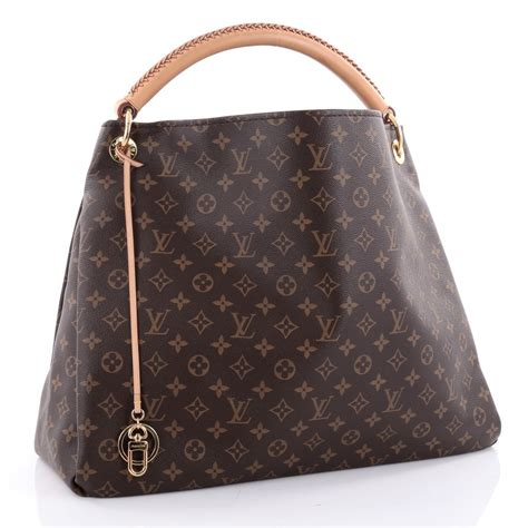 buy louis vuitton artsy handbag monogram canvas gm brown  trendlee