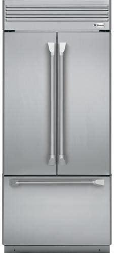 monogram zippnhss   built  french door refrigerator  ice maker led lighting