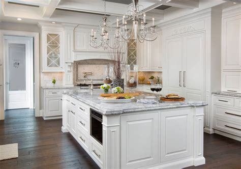 White Cabinets With Granite by 35 Fresh White Kitchen Cabinets Ideas To Brighten Your