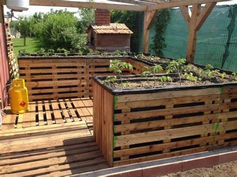pallet garden bed 20 inspired wood pallet ideas pallet ideas recycled