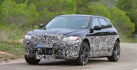 Spy Shots Jaguar Ipace Spied Wheels