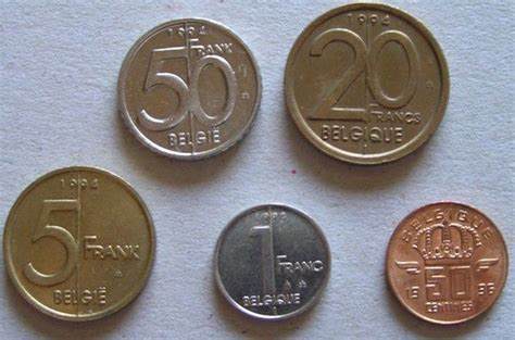 Belgian Coins Just Before The Euro