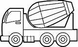 Coloring Cement Mixer Truck Concrete Healthy Ravioli Result Lasagna Chicken Popular sketch template