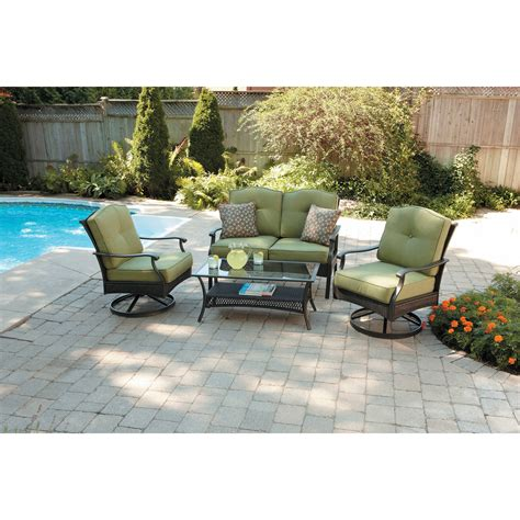better homes and gardens wicker patio cushions better homes and gardens wicker patio furniture