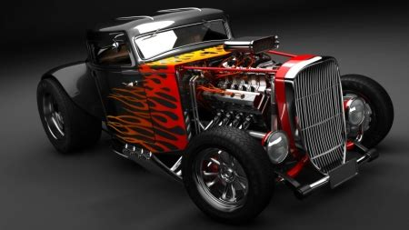 hot rod ford cars background wallpapers  desktop