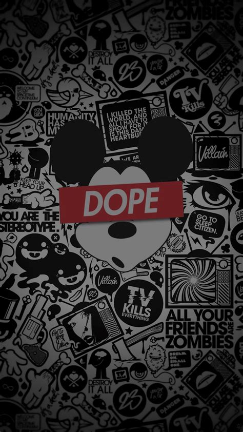 Dope Backgrounds Mickey Dope 1080 X 1920 Wallpapers 4784548