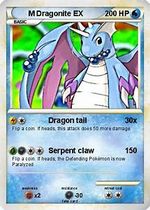 Pokémon M Dragonite EX 2 2 - Dragon tail - My Pokemon Card