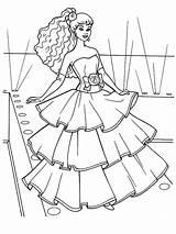 Princess Coloring sketch template