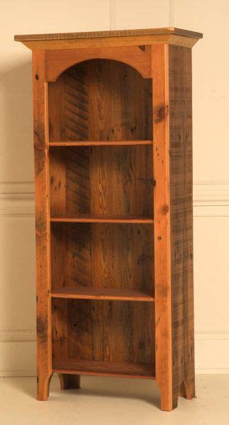 barn wood bookcase rustic decor rustic wood furniture