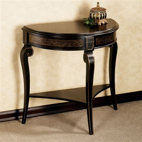 small brown table l interesting small foyer table designs home furniture