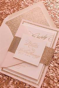 real wedding katie and anthony fancy rose gold foil and With blush gold wedding invitations uk