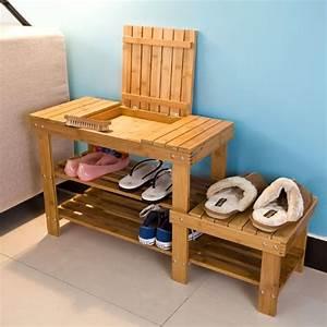 Meuble A Chaussure Banc : banc meuble chaussure maison design ~ Preciouscoupons.com Idées de Décoration