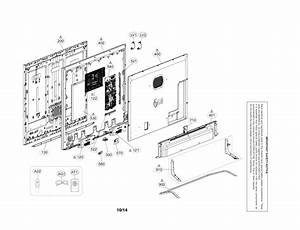 Lg Model 65ub9500 Lcd Television Genuine Parts