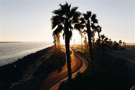 highway road landscape  san diego california image