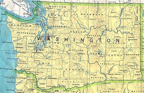 seattle visitors bureau washington maps perry castañeda map collection ut