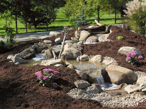 backyard streams and waterfalls backyard streams waterfalls premiere aquascapes
