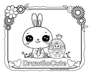 draw  cute cute drawing  coloring pages