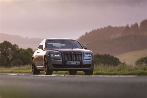 rolls royce ghost black badge review stylish