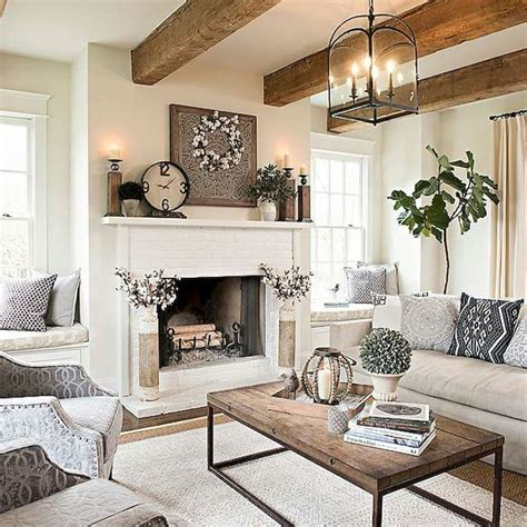Decorating Ideas Rustic Modern by 34 Modern Farmhouse Fireplace Ideas Furniture Inspiration