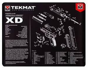 Beck Tek  Llc  Tekmat  R20xd Springfield Xd Ultra Premium