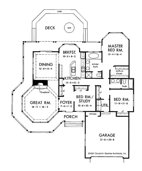 Floor Plans For 1 Story Homes by High Resolution House Plans 1 Story 6 One Story