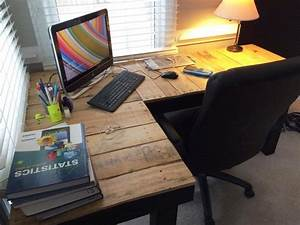 L Shaped Computer Desk With Lamp : Home Design - L Shaped