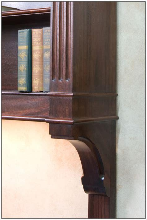 Mahogany Hanging Bookcase