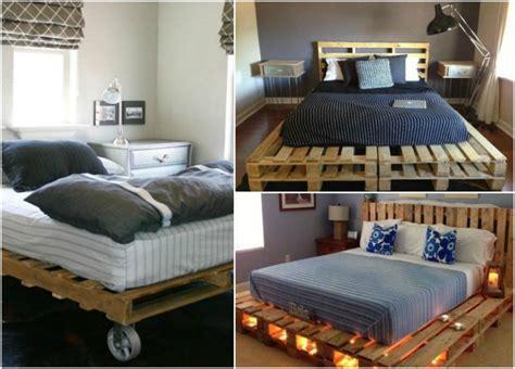 chambre palette bois un meuble en palette de bois pour chaque pièce de la maison
