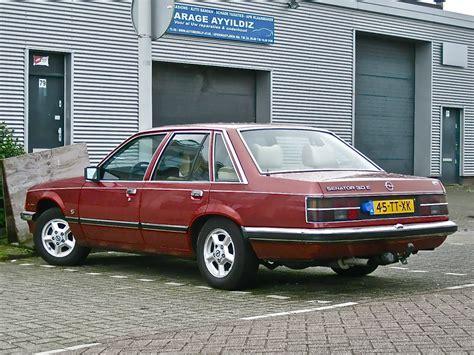 Opel Senator by 1981 Opel Senator 3 0e S Automatic The 80s Generation Of