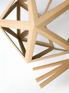 Objet En Carton Facile A Faire : best 25 origami lamp ideas on pinterest art shop london london design week and origami lampshade ~ Melissatoandfro.com Idées de Décoration