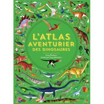 latlas aventurier des dinosaures cartonne lucy