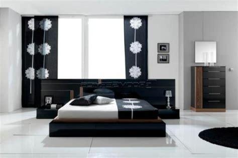 deco de chambre noir et blanc la décoration noir et blanc vous surprenda avec style et