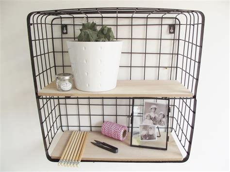 Details About Vintage Industrial Style Black Metal Wire