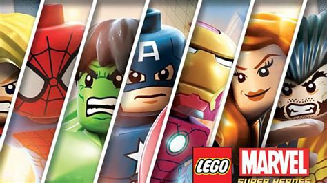 lego marvel super heroes video constructs stark tower