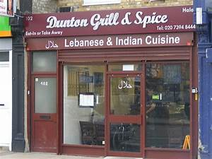 Dunton Grill & Spice Indian and Lebanese restaurant in