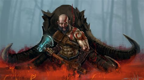 2048x1152 God Of War 4 Art 2048x1152 Resolution Hd 4k