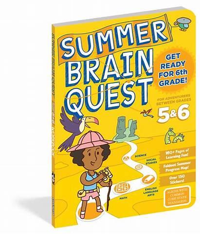 Quest Brain Summer Grade 5th Slide Grades