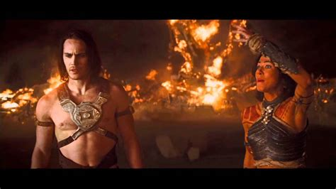 cast of john carter from mars john carter movie clip quot i m on mars quot official 2012 hd