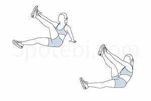 Star Toe Touch Sit Ups