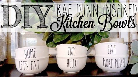 diy rae dunn inspired bowls dollar tree hack woodenboxes dollar tree gifts dollar tree cricut