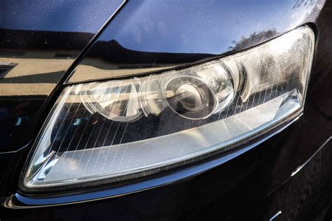 audi a6 headlights audi a6 c6 from halogen to bi xenon projector