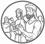 Jesus Lent Lhp Lu Knocking Door Popular sketch template