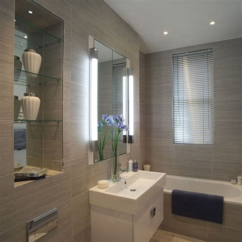 astro romano 600 polished chrome bathroom wall light at uk