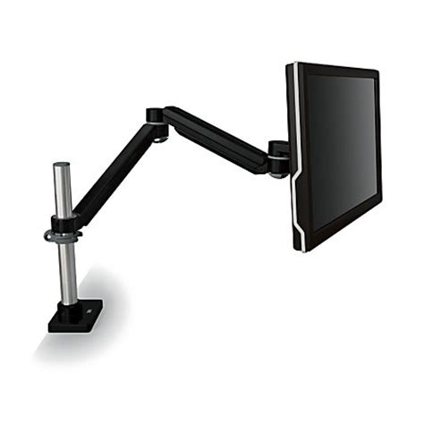 3m ma240mb adjustable monitor arm desk mount 20 lb