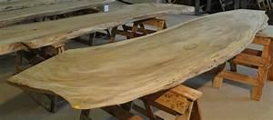 Holz Baumstamm Tisch Massiv 100009 4