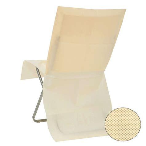 housse de chaise jetable ivoire housses de chaise ivoire jetable opaque dragées anahita
