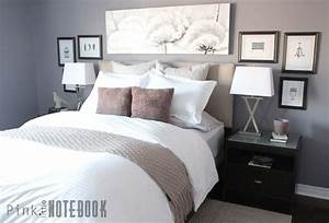 A Dramatic Master Bedroom Makeover Pink Little