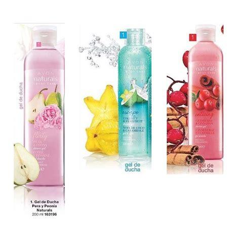 gel de ducha perfumado avon naturals